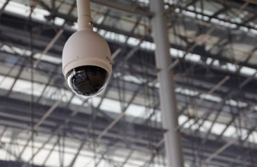 security camera and emergency lighting installation